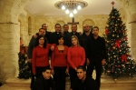 Tthe Lord Is My Banner Team- Christmas ceremony at Ramallah