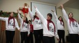 حفلة عيد الميلاد في كنيسة عيلبون المعمدانية