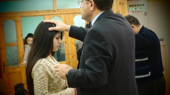 زيارة القس اندراوس ابو غزالة 15-3-2012