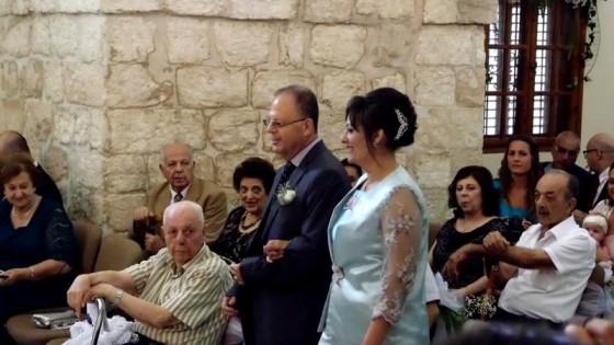 زواج سامر وايمان عودة