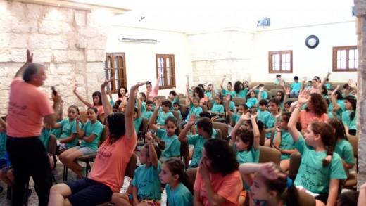 مخيم الصيفي اليوم الاول 11-08-2014