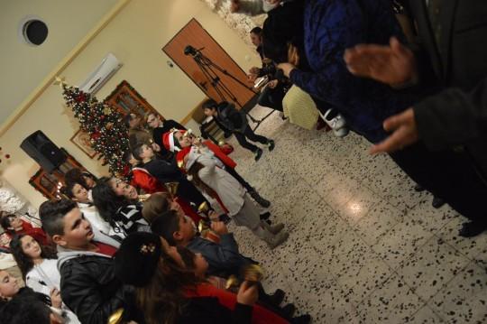 احتفال الميلاد للكنيسة الانجيلية المعمدانية كفرياسيف 2016
