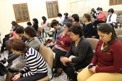 لقاء خاص لنساء الكنيسة مع الاخت بريسكلا زنانيري