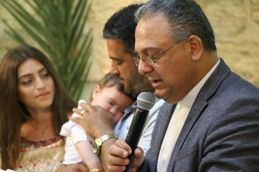 تكريس الطفل نور ابراهيم عوض 1-04-2018